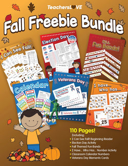 Fall FREEBIE Bundle! — 110 Pages!