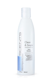 Nonscents Clean & Simple Shampoo 8oz