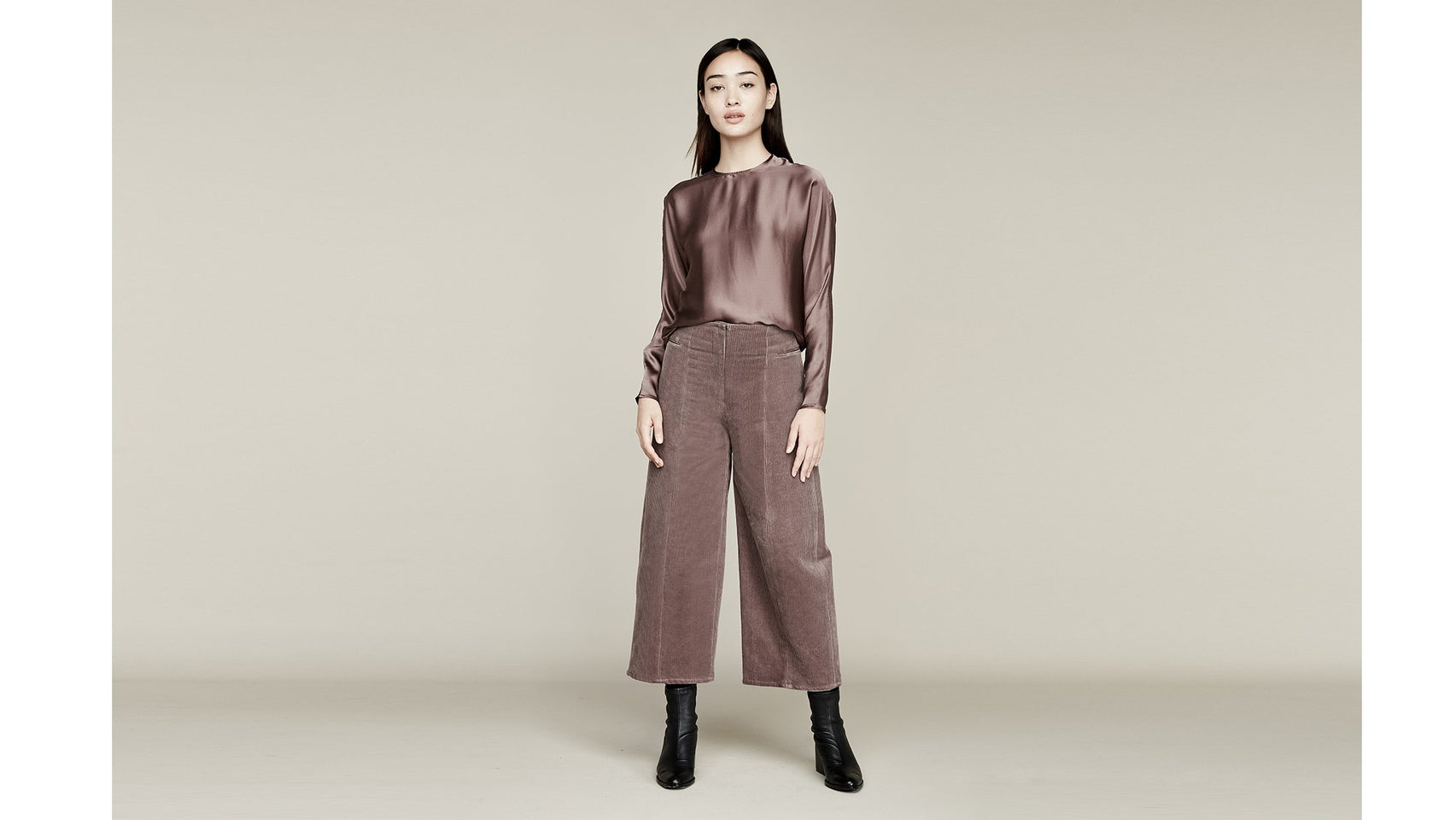 Where Mountains Meet Calder Pant Mauve