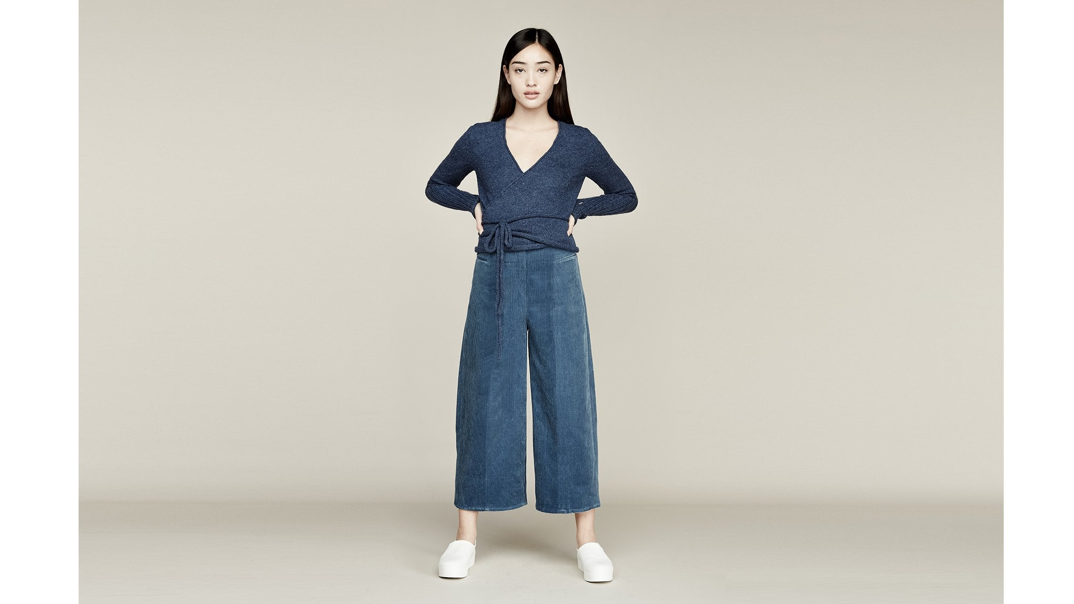 Where Mountains Meet Calder Pant Steel Blue