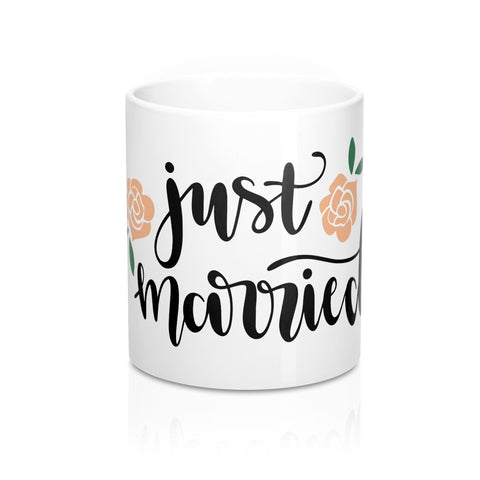 Just Married Ceramic 11oz Mug - Inspired By Savy