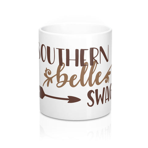 Southern Belle Swag Ceramic 11oz Mug - Inspired By Savy