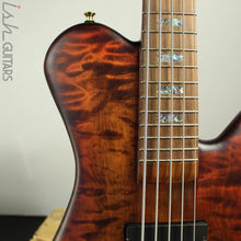 Spector Singlecut SC5 NS-5 Bass Ultra Amber Burst Matte Flame Maple