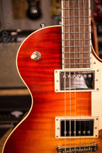 Berumen Flat Top 2 Pickup Flame Top Les Paul Style Hand Made Guitar