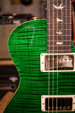 PRS Paul Reed Smith Singlecut Tremolo CUSTOM 10 Top Faded Emerald Natural Back