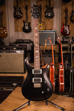 PRS Paul Reed Smith CE24 CUSTOM Color Matte Black Top and Neck, Natural back!