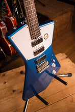 Sterling by Music Man St. Vincent Signature Series Electric Guitar Vincent Blue