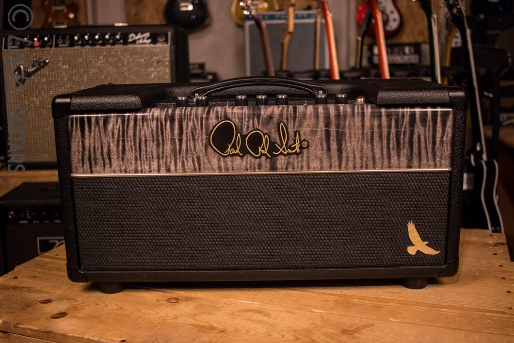 PRS HXDA 50 - 50-watt Tube Head - Stealth and Charcoal