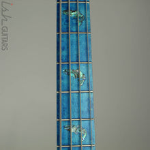 2018 Spector NS-2 Ish Limited Buckeye Burl Coral Blue Bass
