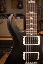 PRS Custom 24 Custom Color Matte Black Natural Back