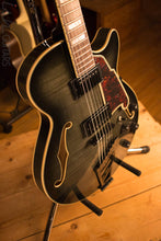 D'Angelico Excel EX-SS Laminated Flame Maple Grey Black