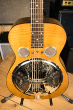 Dobro Hound Dog Deluxe Round Neck Acoustic Electric