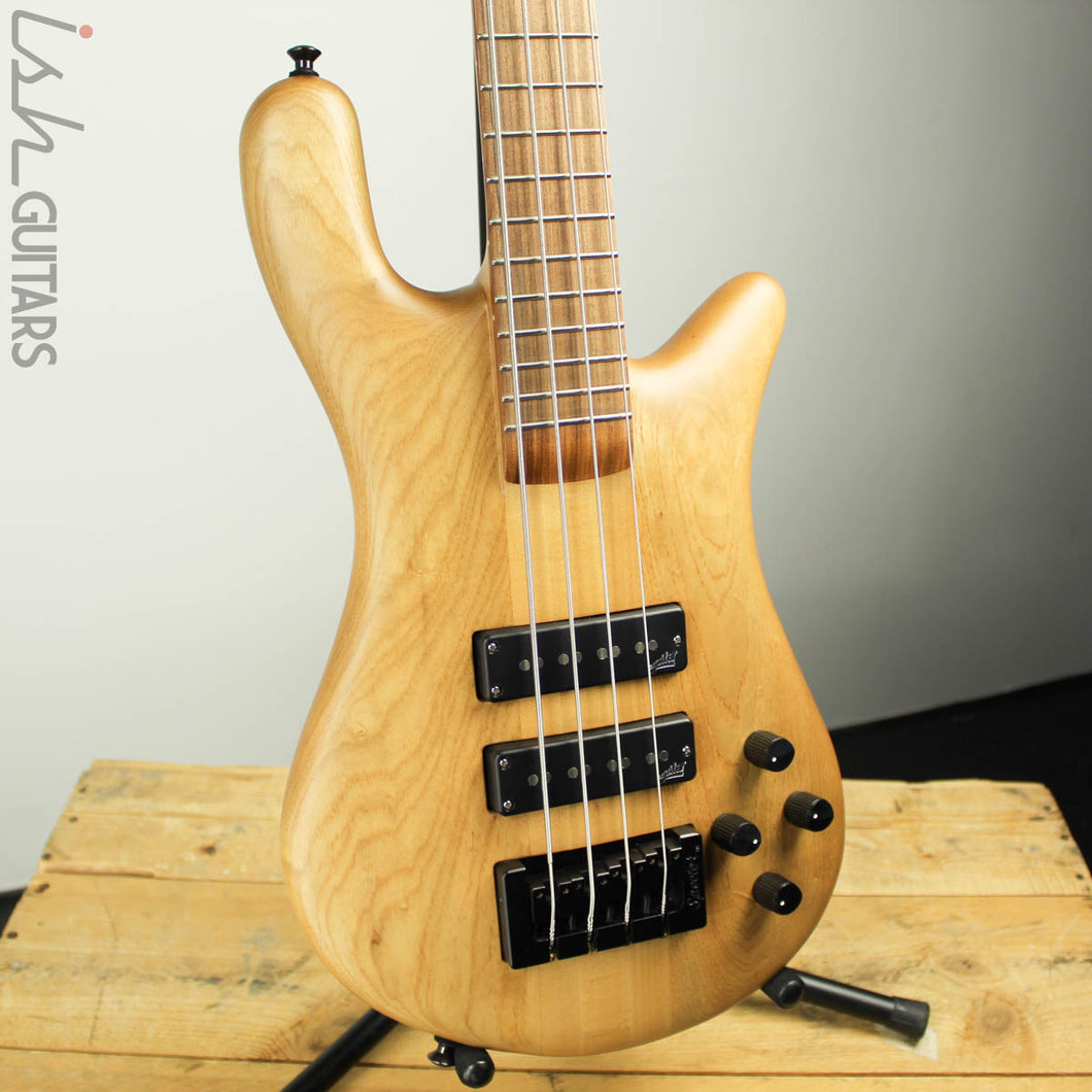 Spector Forte 4 USA Natural Swamp Ash Bass Guitar