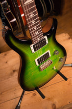 Paul Reed Smith PRS CE24 Custom Color Eriza Verde Burst Natural Back