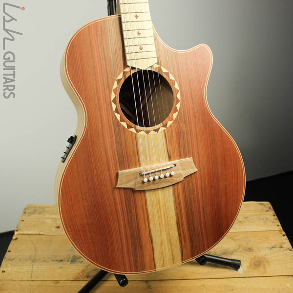 Cole Clark Angel AN2EC-RDBLSB Redwood Rop w/ Blackwood Back and Sides