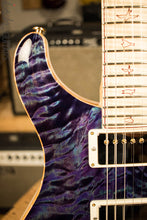 Paul Reed Smith Private Stock Custom 24 Aqua Violet Quilted Maple Top Flamed Maple Neck