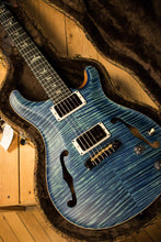Paul Reed Smith Wood Library Hollowbody I Satin River Blue w/ Matching Flamed Maple Neck