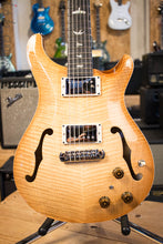 2018 PRS Experience Hollowbody II Piezo Vintage Natural Burst 10 Top INSANE FLAME