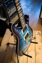 2018 Paul Reed Smith Custom 24 10 Top Custom Color Aquabluex Purple Burst