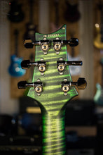 Paul Reed Smith Wood Library Satin Jade Green Burst Quilted Maple 10 Top Custom 24-08
