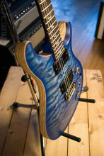 Paul Reed Smith Wood Library Custom 24/08 Satin Faded Blue Burst Quilted Maple Top Swamp Ash Body