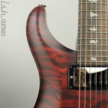 Paul Reed Smith Wood Library Custom 24-08 Satin Red Tiger Quilted Maple Top