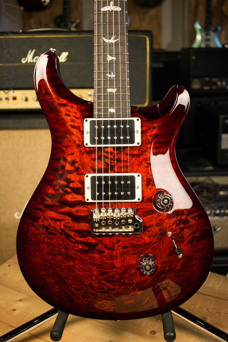 2018 Paul Reed Smith Custom 24 Quilted Maple 10 Top