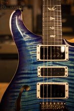 Paul Reed Smith PRS Special 22 Semi-Hollow Wood Library Artist Top Swamp Ash Back Aquableux Purple Burst