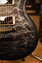 Paul Reed Smith PRS McCarty 594 Semi-Hollow Wood Library Figured Maple Neck/Fretboard Swamp Ash Back Whale Blue Satin Finish
