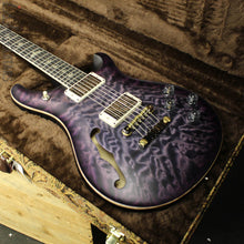 Paul Reed Smith PRS McCarty 594 Semi-Hollow Wood Library Faded Purple Burst Satin