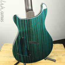 2018 PRS Paul Reed Smith Private Stock Custom 24 Multi Scale Zebrawood Dark Blue Glow Smoked Burst