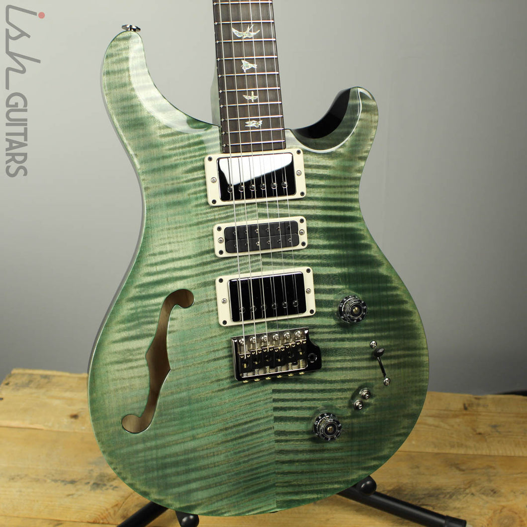 Paul Reed Smith PRS Special 22 Semi-Hollow Wood Library Artist Top Trampas Green