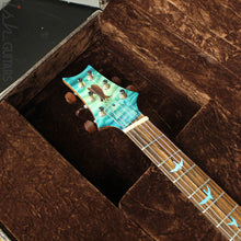 PRS Paul Reed Smith Private Stock Custom 24 Multi-Scale Quilted Maple Double Faded Aquamarine Glow
