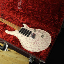 PRS Paul Reed Smith Private Stock Custom 24 Multi-Scale Figured Swamp Ash White Wash Red Grainfiller