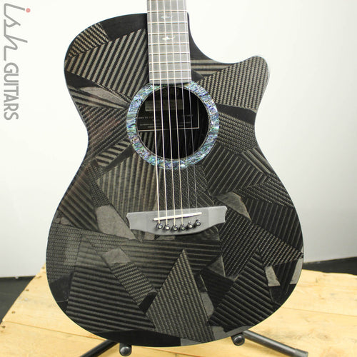 RainSong Black Ice BI-OM1000N2 Graphite Acoustic