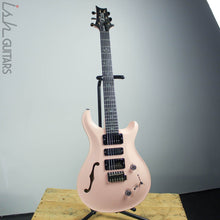 B-Stock 2019 PRS Wood Library Special 22 Semi-Hollow Opaque Grandma Hannon Pink