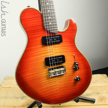 Bruton Hampden Uppercut Cherry Sunburst