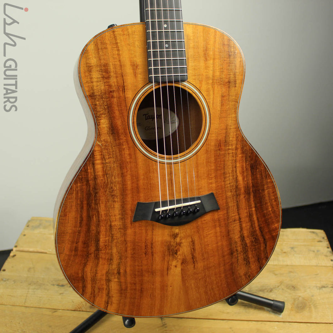 2016 Taylor GS Mini Koa w/ Gig Bag Very Good