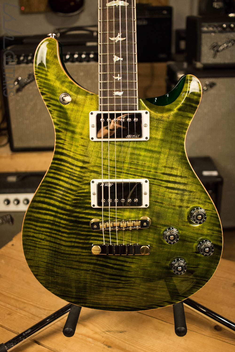 2016 Paul Reed Smith McCarty 594 One Piece Ten Top Custom Jade Color