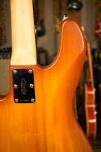 Sterling by Music Man Stingray 4 Satin Honey Burst