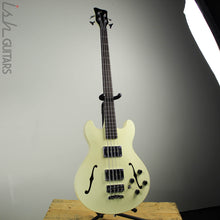 2018 Warwick Teambuilt Pro Series Star Bass Maple 4 Solid Creme White High Polish