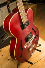Ibanez Artcore AF55 Hollow Body Electric Guitar Red Flat