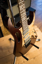 "Ibanez JEM77WDP Steve Vai Signature ""Woody"" Charcoal Brown"