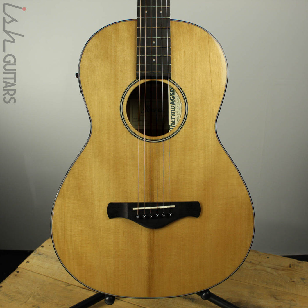 2018 Ibanez AVN9SPE-NT Thermo Aged Parlor Acoustic-Electric Guitar Natural