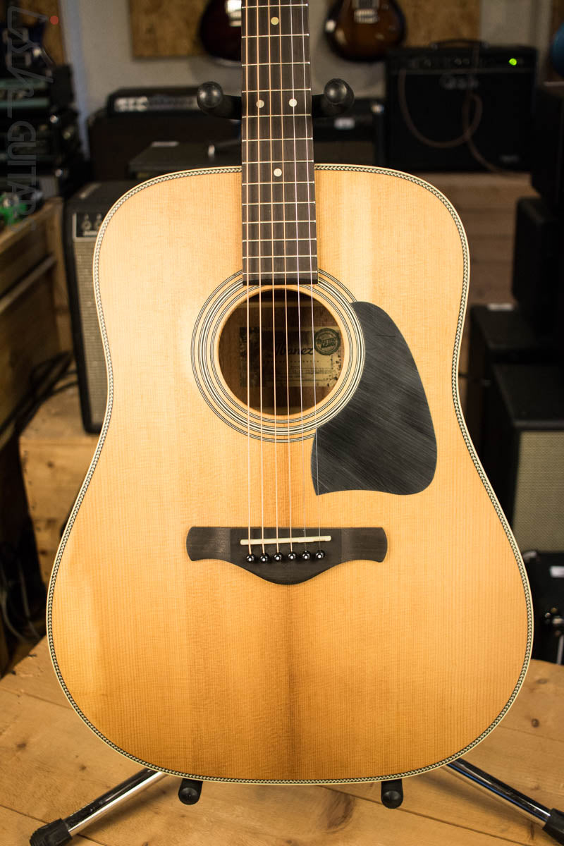 Ibanez Artwood AVD11 Thermo Aged Acoustic Guitar Antique Natural Semi Gloss