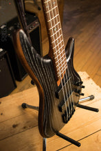 Ibanez SR670 Silver Wave Black Electric Bass