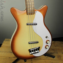 Danelectro 59DC Long Scale Bass Guitar Copper Burst