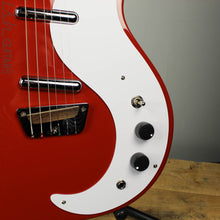Danelectro Stock 59 Red Electric Guitar (DEMO VIDEO)