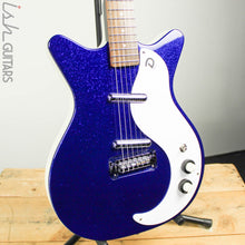 Danelectro 59M NOS+ 60th Anniversary Edition Blue Metalflake