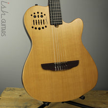2009 Godin ACS-SA Slim Cedar Natural SG Acoustic Electric Nylon